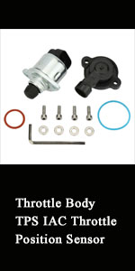 Throttle Body TPS IAC Throttle Position Sensor for LS1/LS2/LS4/LS6/L7
