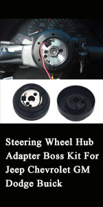 Steering Wheel Hub Adapter Boss Kit For Jeep Chevrolet GM Dodge Buick