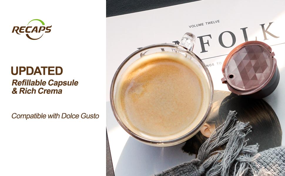 Amazon.com: RECAPS - Cápsulas de café rellenables ...