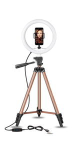 """10"""" Ring Light Stand"""