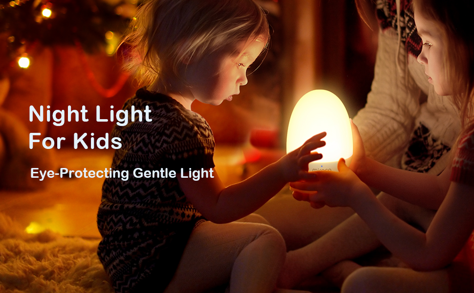 Night Light for Kids Eye-Protecting Gentle Light