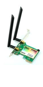 Amazon.com: Ubit Bluetooth WiFi Card AC 1200Mbps, Wireless ...
