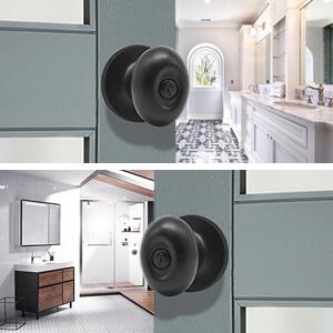 oval door knobs