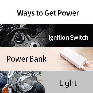 ways to get power, engine start/stop mode