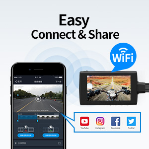 wifi connection and easy share