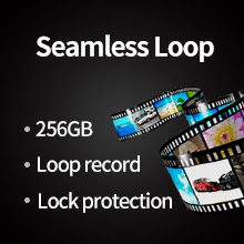 loop recording, 256Max