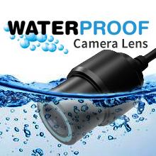 IP67 waterproof and dustproof camera lenses