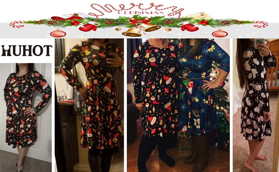 78ffb1f6ddcc HUHOT Christmas Dresses