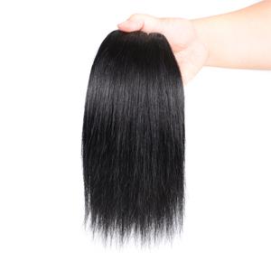 straight human hair bundles weave hair human bundles  bundles with closure hair extension bundles