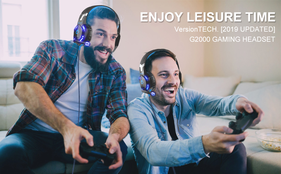 Amazon.com: VersionTECH. G2000 [Updated] Stereo Gaming