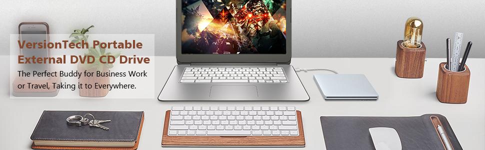 Amazon.com: Grabador externo de DVD VersionTech, USB, para ...
