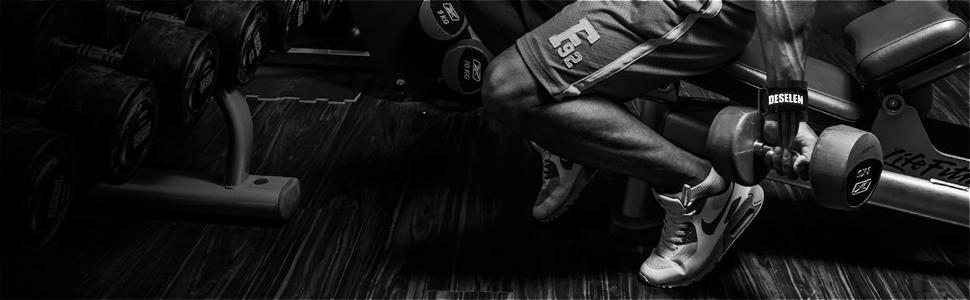 Amazon.com: Deselen - Guantes de levantamiento de fitness ...
