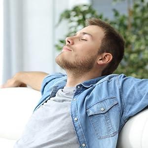Man resting
