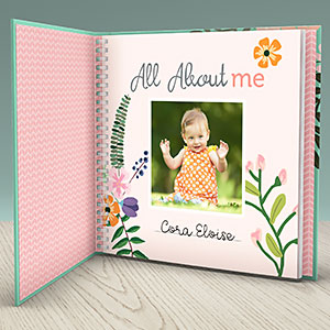 preserve memories and ohoto in heirloom quality baby journal