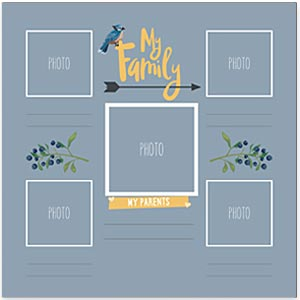 My Family Page Preview