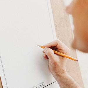 sketching drawing sketch set