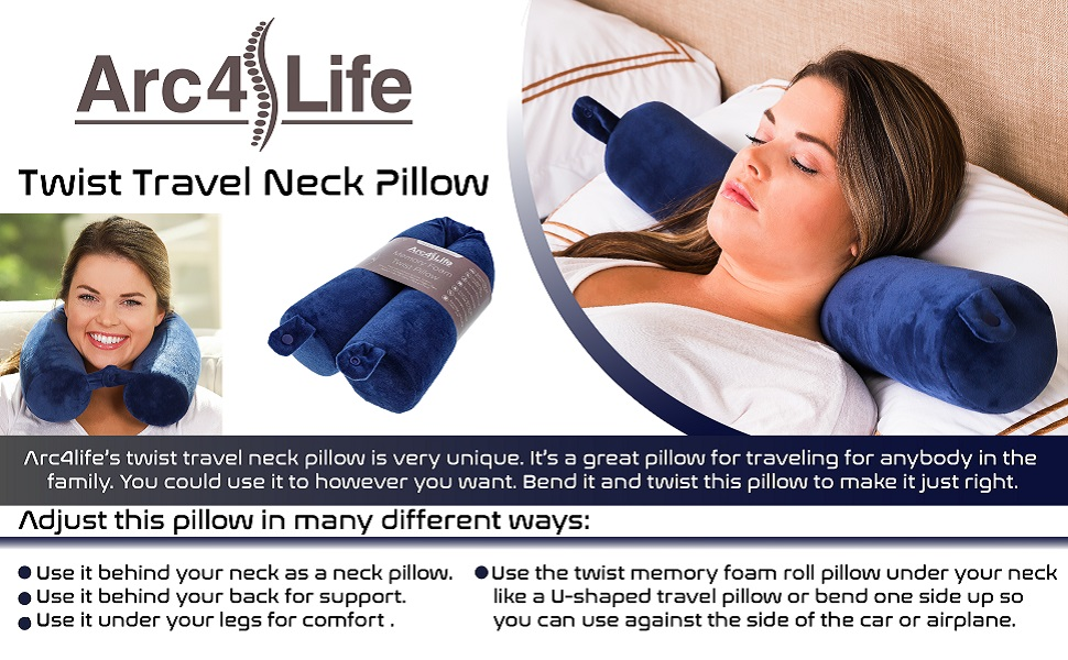 Pillow for travelling, twist pillow, u shaped pillow, travel neck pillow, neck pillow for airplane