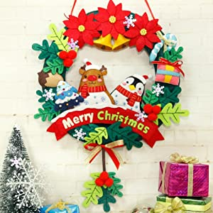 Colors Christmas.Levylisa 30pcs 12 X12 Felt Sheets Christmas Felt Colors Pure Felt Emerald Green Red White Felt Assortment Christmas Ornaments Stockings And