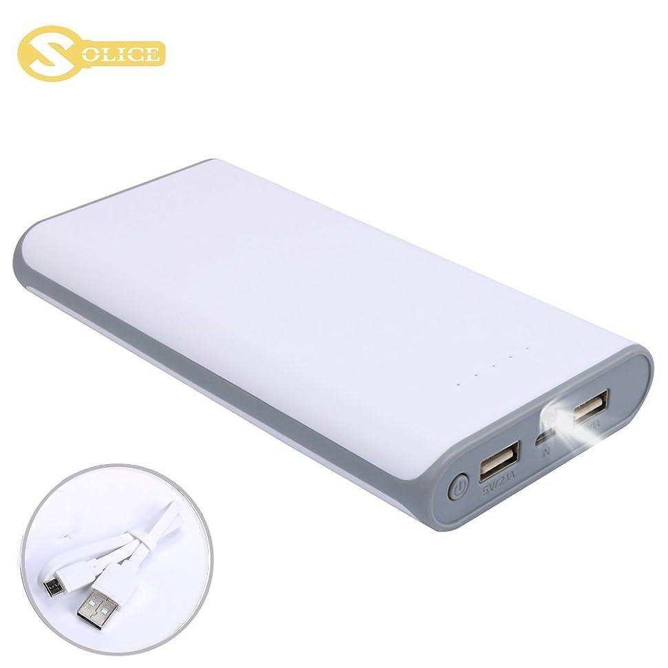 Amazon.com: SOLICE 20000mAh Dual USB Output Portable