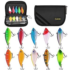 10 pcs fishing lures
