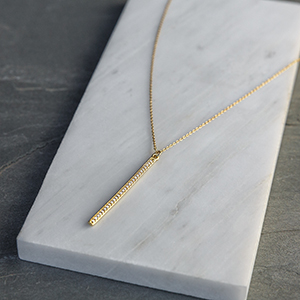 bar necklace for women