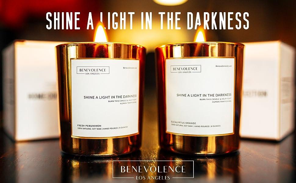 benevolence la soy candle