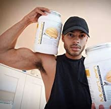 Metabolic Nutrition, Musclean, Whey Protein Meal Replacement, Weight Gainer, High Protein, Low Carb, High Fat, Keto Diet, Digestive Enzymes, 24 Vitamins and Minerals, Vanilla, 2.5 Pound (25 ser) 23