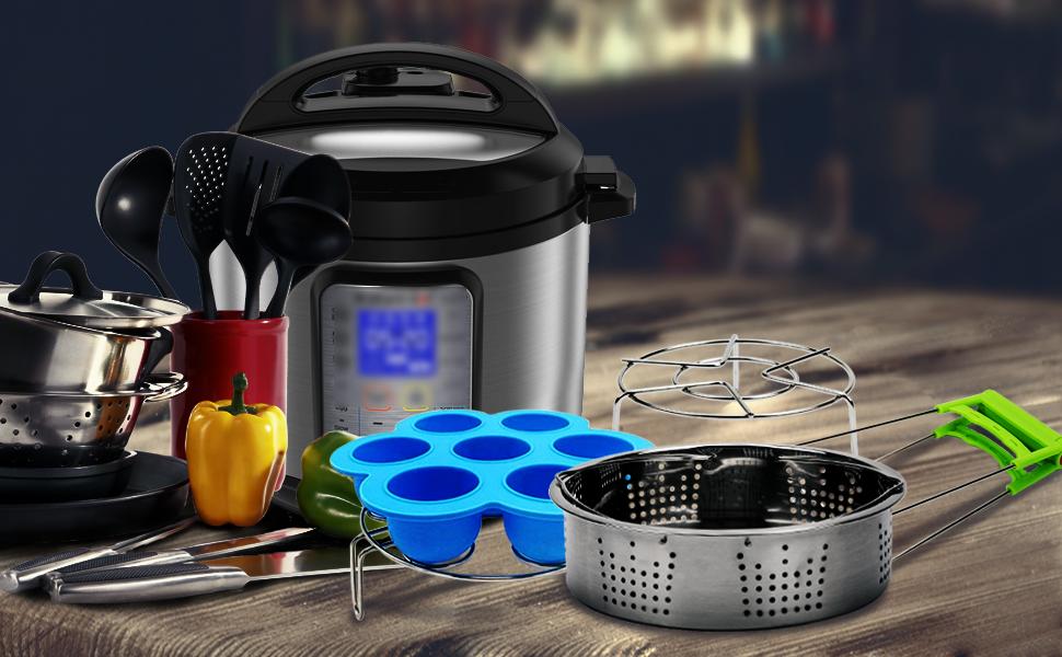 Amazon.com: ZOUTOG - Juego de 5 utensilios de cocina a ...