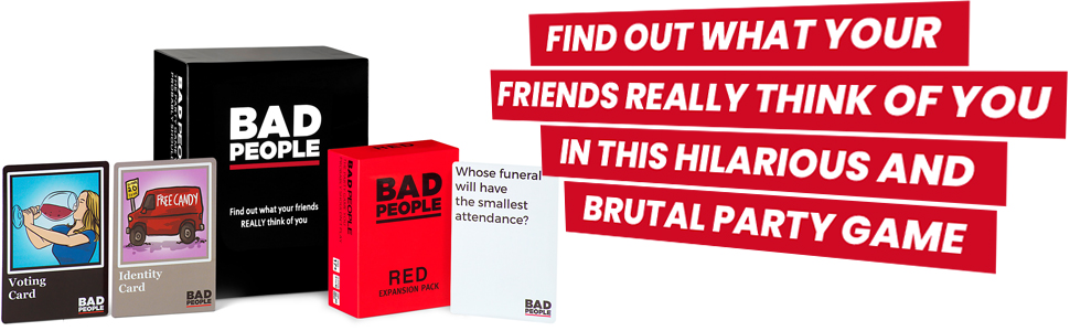 Amazon.com: BAD PEOPLE – El juego de fiesta que ...