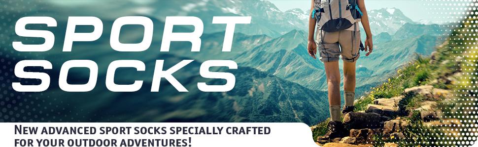 Hiking, Outdoor Trailing, Trekking, Skiing, Climbing, Trail Running, Winter Cycling