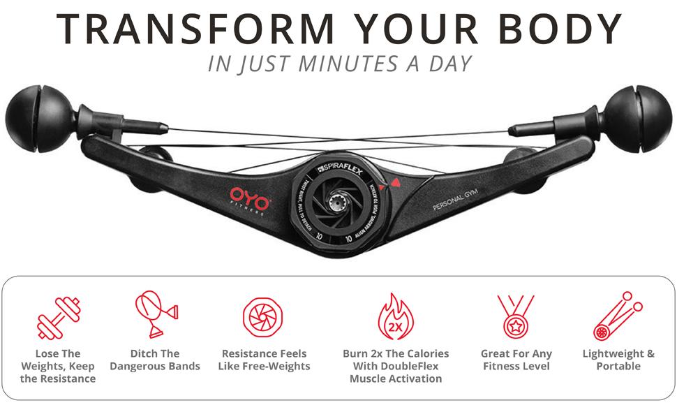 0d4e70f78284 Amazon.com   OYO Personal Gym - Full Body Portable Gym for Home ...