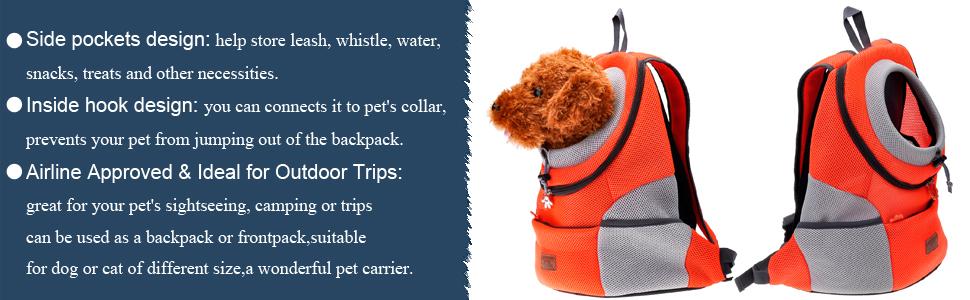 dog front bag