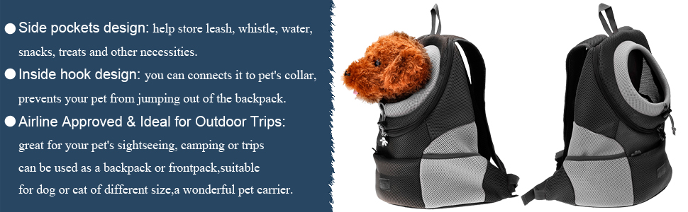 dog frontpack