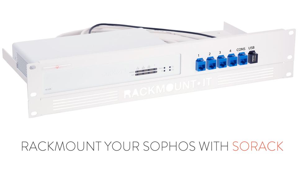 Amazon com: Rackmount IT | RM-SR-T5 | Rack Mount Kit for Sophos XG