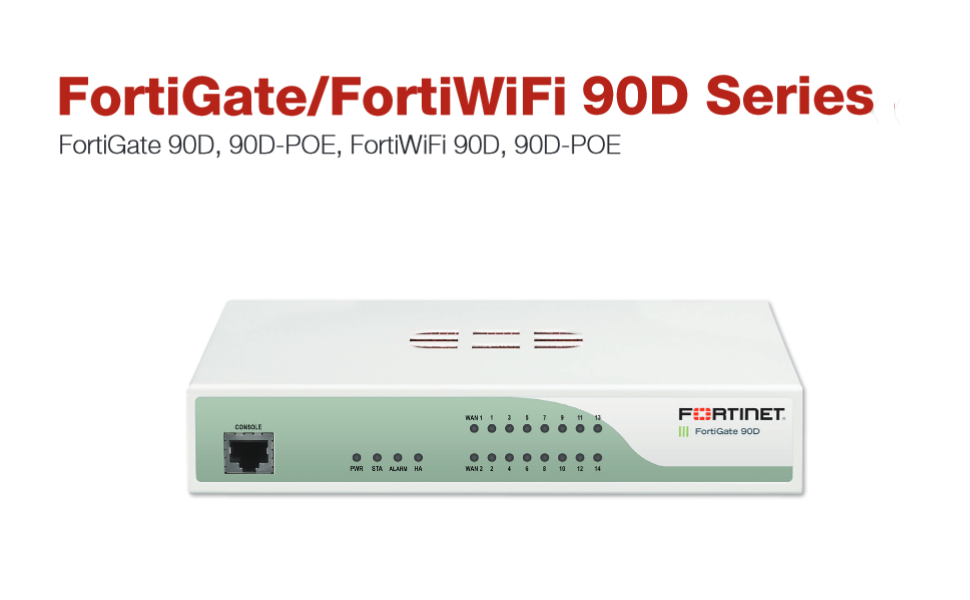 Fortinet FortiGate-90D Security Appliance Firewall (Hardware Only) FG-90D