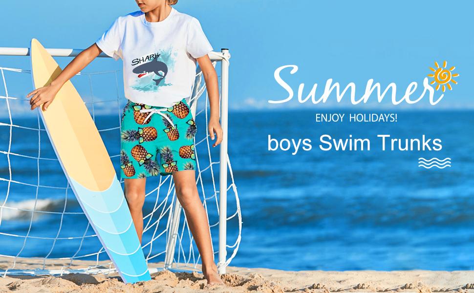 boys swim trunks