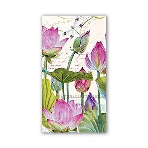 Michel Design Works Water Lilies Hostess Napkins