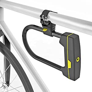 Seatylock Mason U-Lock GREY 140mm Sold Secure Gold Bike Lock Free Frame Mount