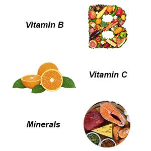 Vitamin c, vitamin b, minerals for diabetics