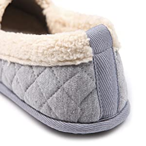 Chicnchic women plush house slippers ladies - Ladies bedroom slippers with heel ...