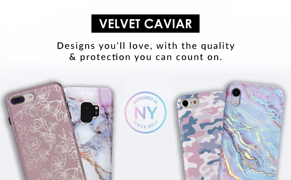 Velvet Caviar Compatible with iPhone XR Cases Marble for