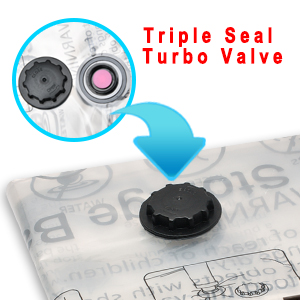 Triple Seal Turbo Valve