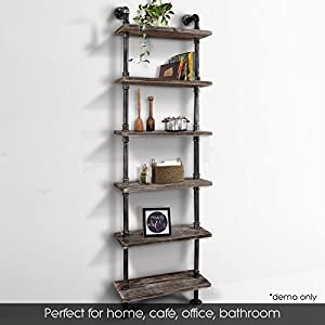 X 10inches Overall Size241079 Get One Now And Impress Your Family Friends Note DIY Pipe Shelf Only Decorations Are Not Included