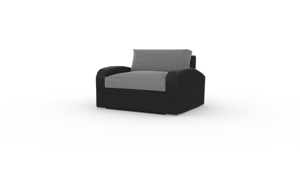 Amazon.com: Deep Seating – Silla, 1pc, Sunbrella tela ...