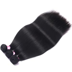 Brazilian Hair 3 Bundles 20 22 24 Inches 8A Virgin Unprocessed Straight Human Hair