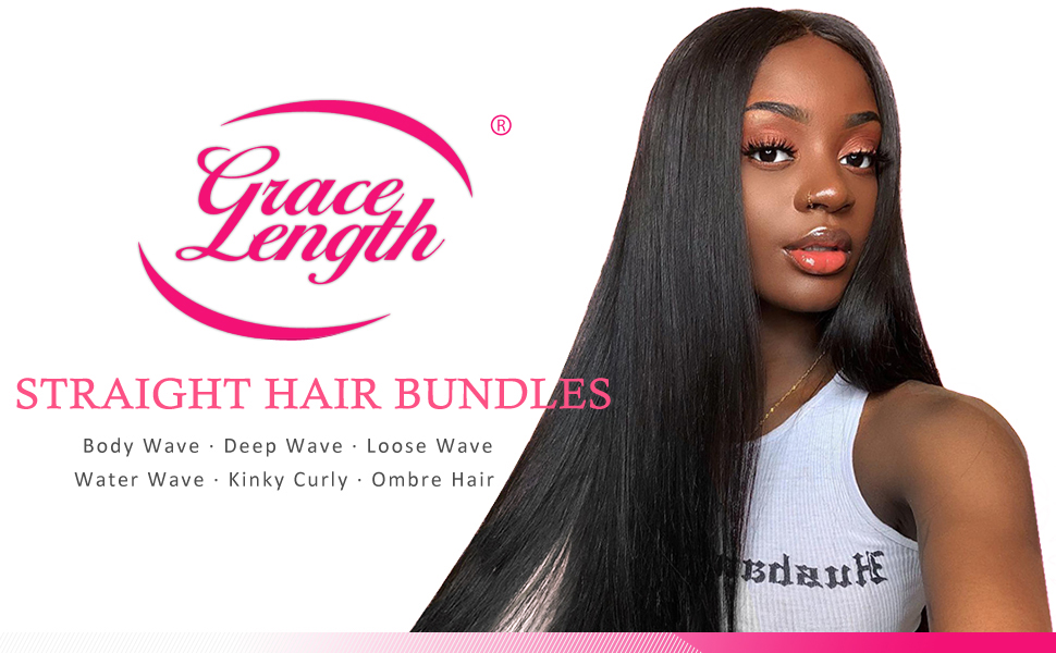 Mink Human Hair 4 Bundles Deals 100% Unprocessed Brazilian Straight Hair Extensions