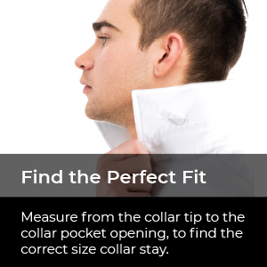 perfect fit collar stays