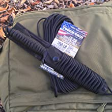 TOUGH-GRID Paracord Knife Handle Wrap Perfect for Camping Cordage Paracord Parachute Cord 750 Pounds