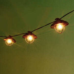Patio String Lights Ucharge Globe String Lights Outdoor 7 Bulb Vintage Ambience Lighting With