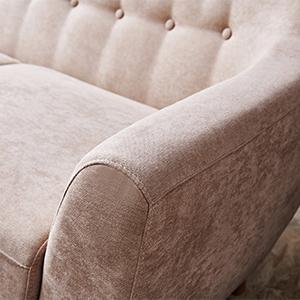 Cool Amazon Com 67 Inch Wide Sofa Beige Julyfox Living Room Dailytribune Chair Design For Home Dailytribuneorg